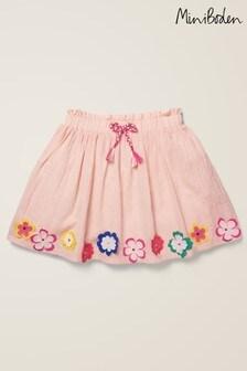 Mini Boden Pink Hula Flutter Skirt