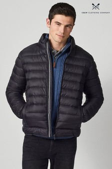 Crew Clothing Company Black Lightweight Jacket