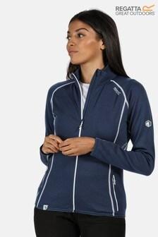 Regatta Womens Hentana II Full Zip Fleece With Merino Wool