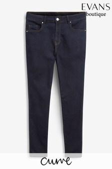 Evans Curve Indigo Skinny Jeans