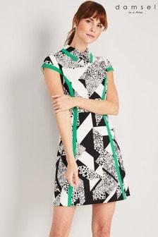 Damsel In A Dress Black Jamie-Lynn Printed Dress