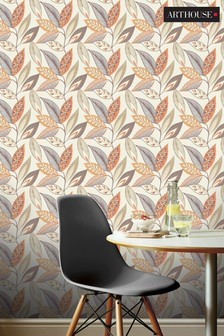Arthouse Sylvan Leaf Wallpaper
