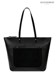 Accessorize Black Emily Tote Bag