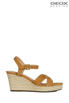 Geox Yellow Soleil Curry Sandals