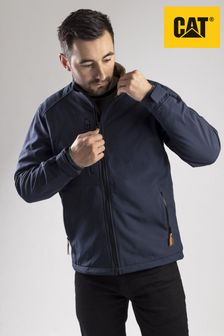 CAT® Blue Softshell Jacket