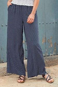 Shirred Waist Trousers