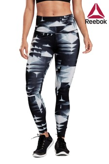 Reebok Lux Black High Rise 2.0 Leggings