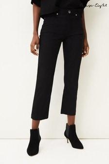 Phase Eight Black Ramona Straight Leg Jeans