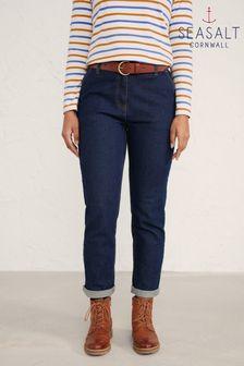 Seasalt Cornwall Navy Hallworthy Jeans