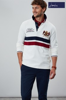 Joules Cream 30th Anniversary Rugby Shirt