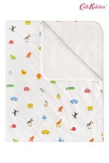 Cath Kidston® Nursery Animals Quilted Blanket