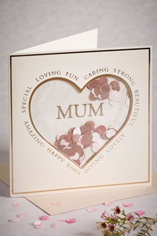 Confetti Shaker Mother's Day Card