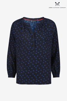 Crew Clothing Blue Marigold Top