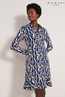 Damsel In A Dress Multi Avaline Abstract Print Dress