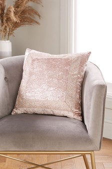 Sequin Border Cushion