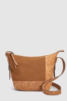 Panelled Bucket Bag