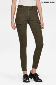G-Star Blossite Army Cargo High Skinny Trousers