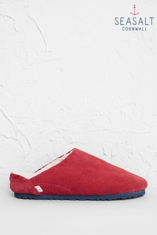 Seasalt Red Dreaming Slippers