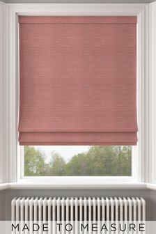 Jasper Blush Pink Made To Measure Roman Blind