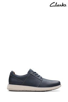 Clarks Blue Un Larvik Lace Shoes