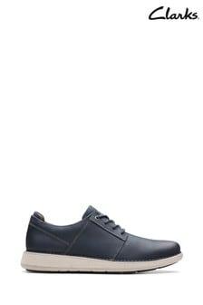 Clarks Blue Un Larvik Lace Shoes