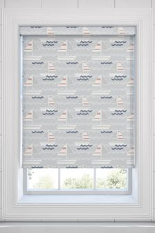 Yachts Ocean Blue Made To Measure Roller Blind