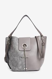 T-Bar Hobo Bag