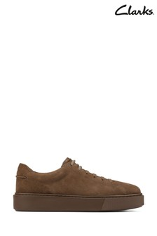 Clarks Dark Olive Hero Lite Lace Shoes