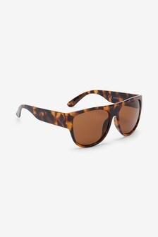 Large Visor Style Sunglasses