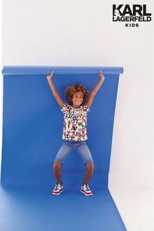 Karl Lagerfeld Kids Denim Shorts