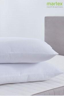 Set of 2 Martex Microfibre Seersucker Pillows