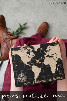 Personalised Travel Memory Box by Solesmith