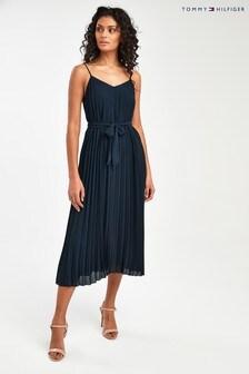 Tommy Hilfiger Blue Ayla Slip Dress