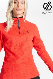 Dare 2b Red Excite Half Zip Fleece