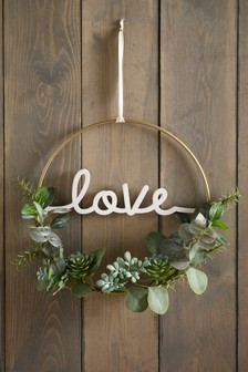 Love Eucalyptus Wreath