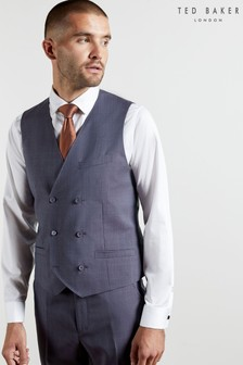 Ted Baker Renaldw Checked Waistcoat