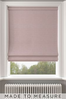 Jasper Heather Pink Made To Measure Roman Blind