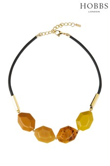 Hobbs Yellow Lucy Necklace