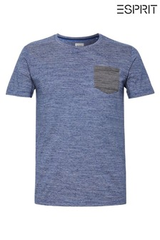 Esprit Blue Pocket T-Shirt