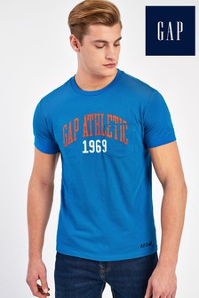 Gap Blue Athletic T-Shirt