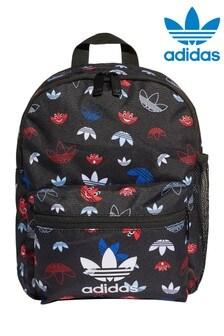 adidas Orginals Kids Face Trefoil Print Backpack