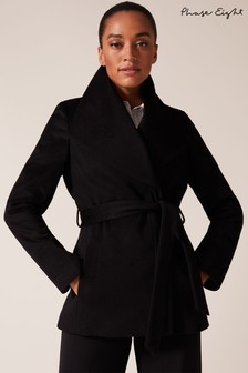 Phase Eight Black Nicci Short Coat
