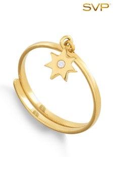 Mix/SVP Supersonic Star Gold Vermeil Ring