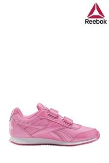 Reebok Pink Print Jogger Junior Trainers