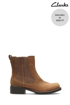 Clarks Brown Orinoco Club Boots