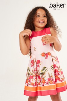 Baker by Ted Baker Girls Bright Floral Dress