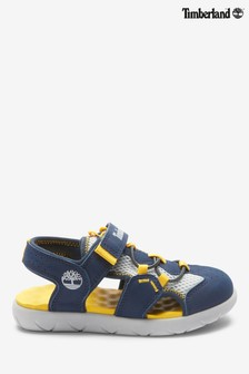 Timberland® Navy Perkins Row 2 Strap Sandals