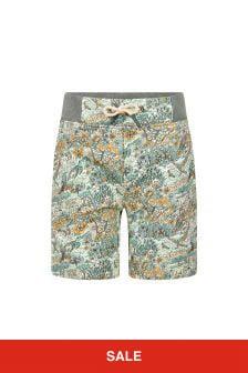 Bonpoint Green Cotton Shorts