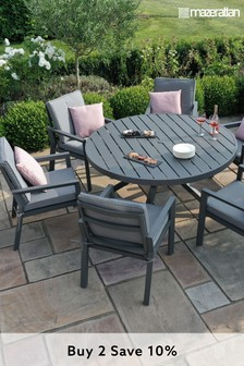 New York 6 Seat Round Dining Set By Maze Rattan