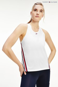 Tommy Hilfiger White Tape Tank